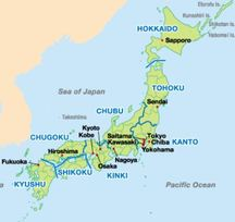 Map Of Japan Japanese With Garrett Sensei - Japan map of cities